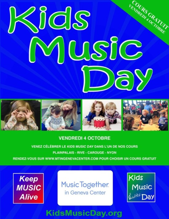 Free class - Family with children - Kids Music Day